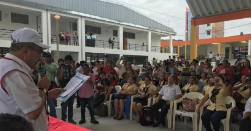 MINEDU: Ministro Vexler inspecciona colegios en la región San Martín - www.minedu.gob.pe