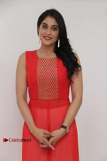 Actress Model Regina Candra Latest Pos in Beautiful Red Dress  0007.jpg