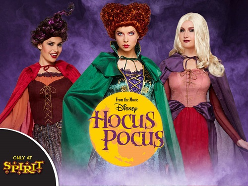 spirit halloweens hocus pocus collection