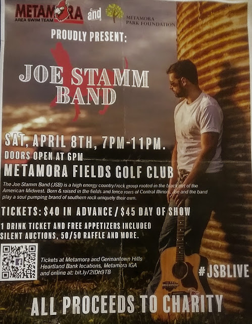 Metamora Herald Joe Stamm Band Charity Event