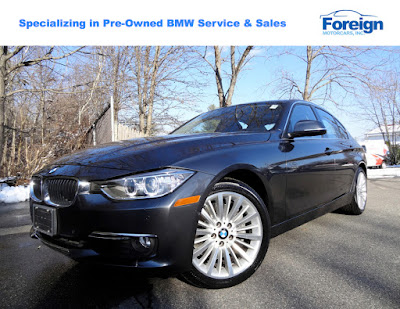 2014 BMW 335i xDrive, Mineral Grey Metallic,  Foreign Motorcars Inc, Quincy Massachusetts, 02169, For Sale