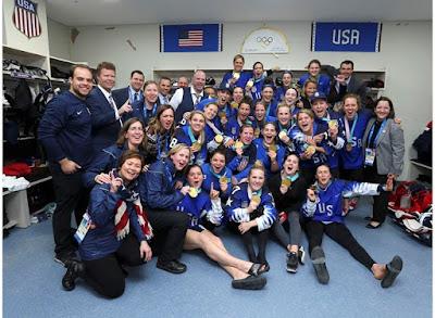 HOCKEY HIELO - Estados Unidos se hace con una dramática medalla de oro