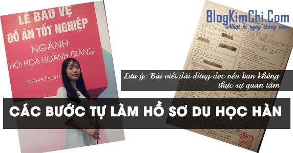 [Note Hay] Các bước tự làm hồ sơ du học Hàn Quốc