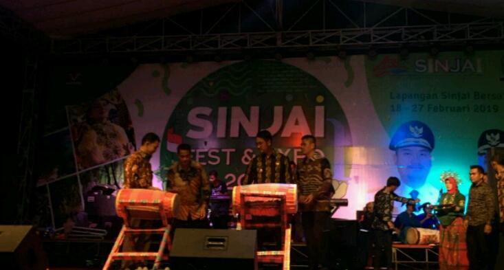 Gendang Ditabuh, Sinjai Fest and Expo 2019 Resmi Dibuka