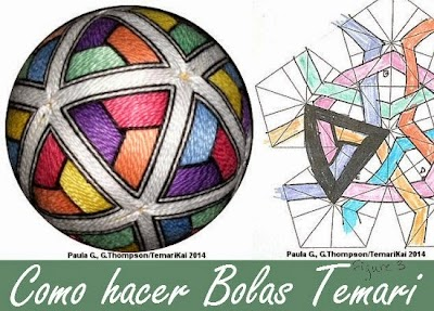 Cómo hacer bolas Temari tutos y patrones