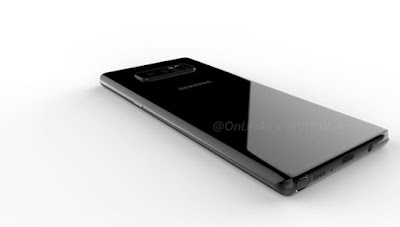 Samsung Galaxy Note 8 Renders Shows Dual Rear Camera Setup