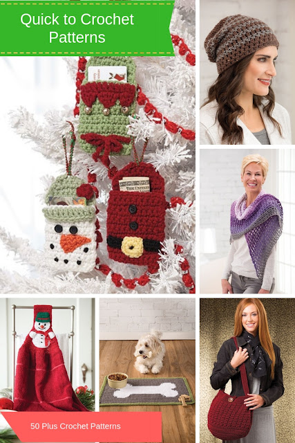 Quick To Crochet Patterns Over 50 Fast Easy And Fun Crochet Gift Ideas