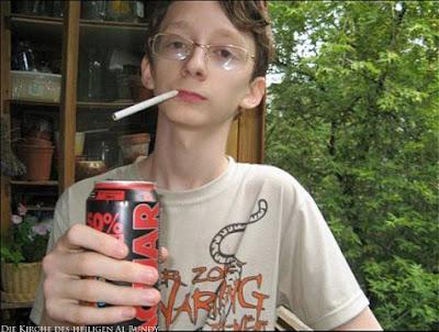 Die dumme Jugend von heute - Alkohol und rauchen Auswirkung - Macht Hässlich