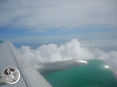 Terbang diatas awan bersama Citilink