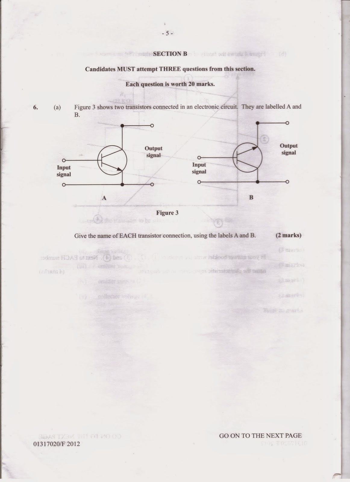 CXC Electrical Pass Paper Questions
