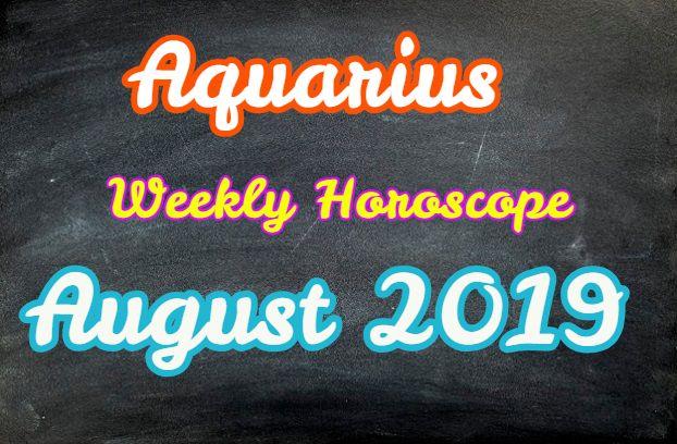 horoscope aquarius weekly forecast