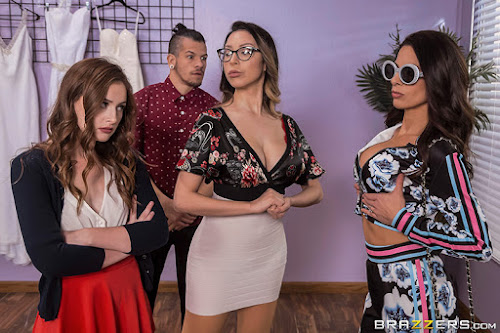 (West) Moms In Control –  Danni Rivers and  Eva Long Say Yes To Some Sex