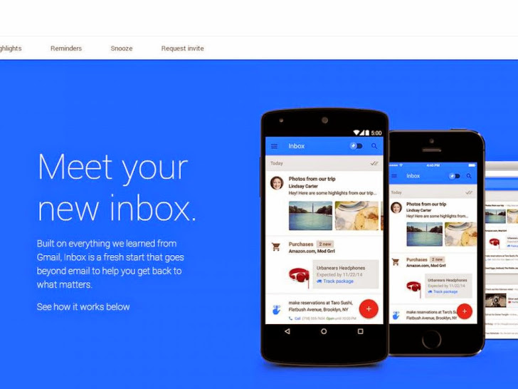 Google Launches User-Friendly 'Inbox' App, Alternative To Gmail