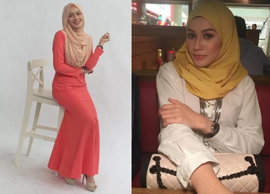 Gambar dan foto Niena Baharun - Pelakon Sayangku Kapten Mukhriz