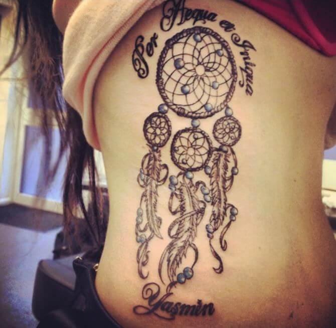 Native American Dreamcatcher 👌 #nativeamericantattoo # ... |Native American Dreamcatcher Tattoo