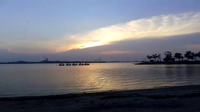 Pantai marina   wonderful Indonesia