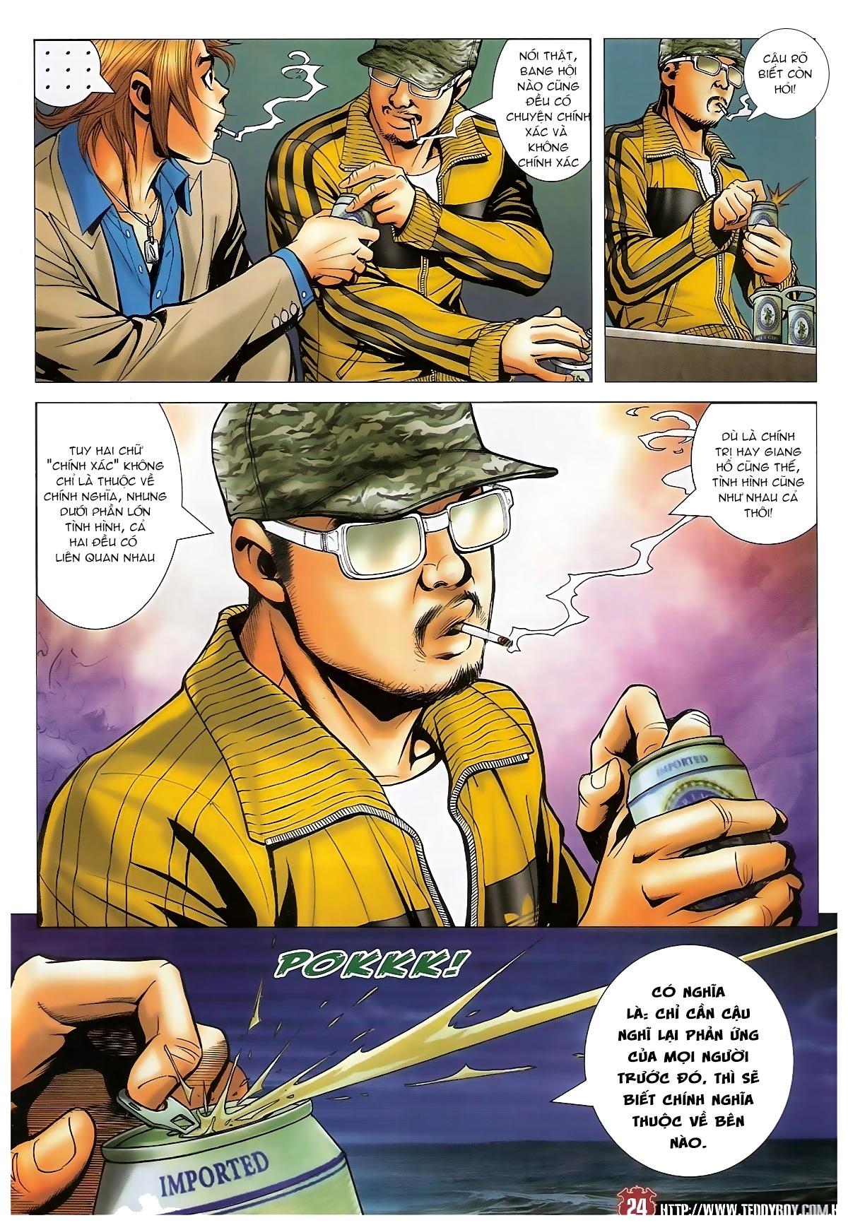 Người Trong Giang Hồ - Chapter 1495: Thiên lý truy hung - Pic 21