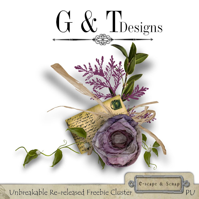 G&T Designs - Unbreakable Re-release & Freebie