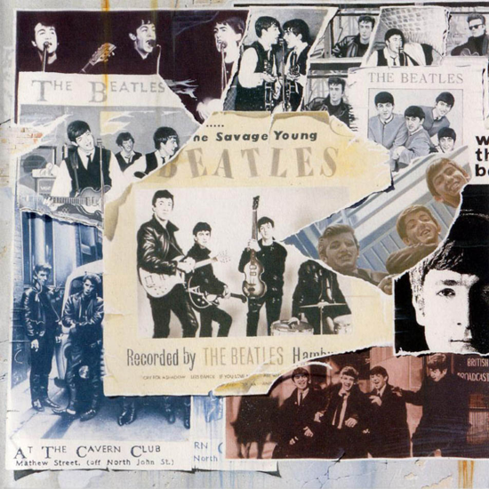 The Beatles - Anthology 1 cover