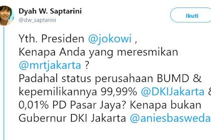 Ungkap Sejarah MRT, Pakar Manajemen Konstruksi Heran: Kenapa Jokowi yang Resmikan MRT?