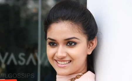 Keerthi Suresh pairs up with Ajith!