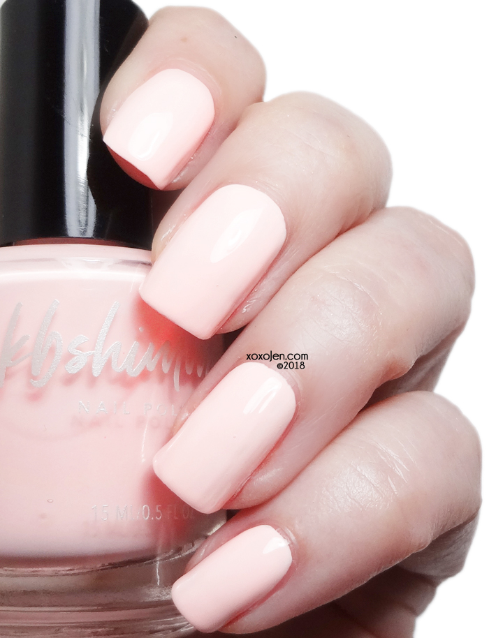 xoxoJen's swatch of KBShimmer Meet Me At The Barre