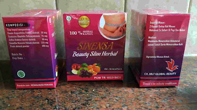 Sinensa Beauty Slim Herbal BSH BPOM