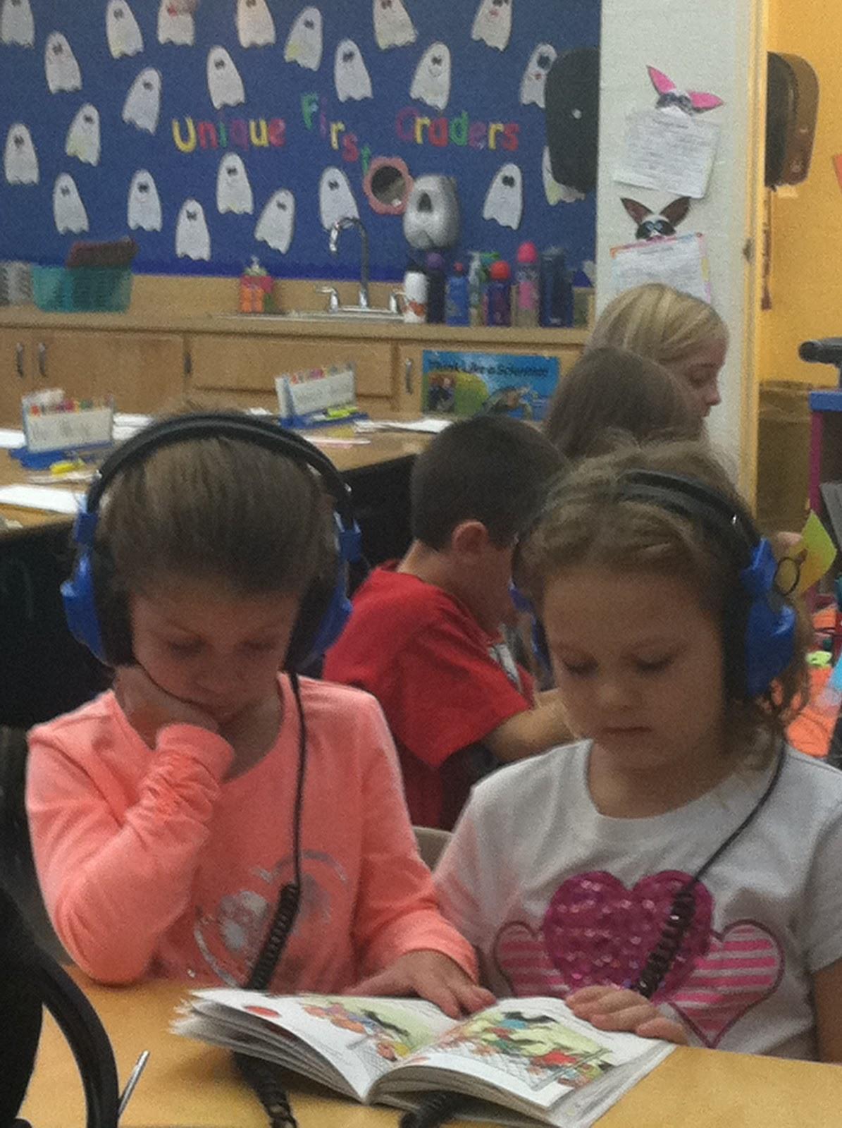 Mrs Brinkman S Blog Listening Center Activity