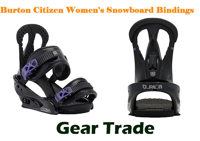 Burton Citizen Womens Snowboard Bindings - Gear Trade