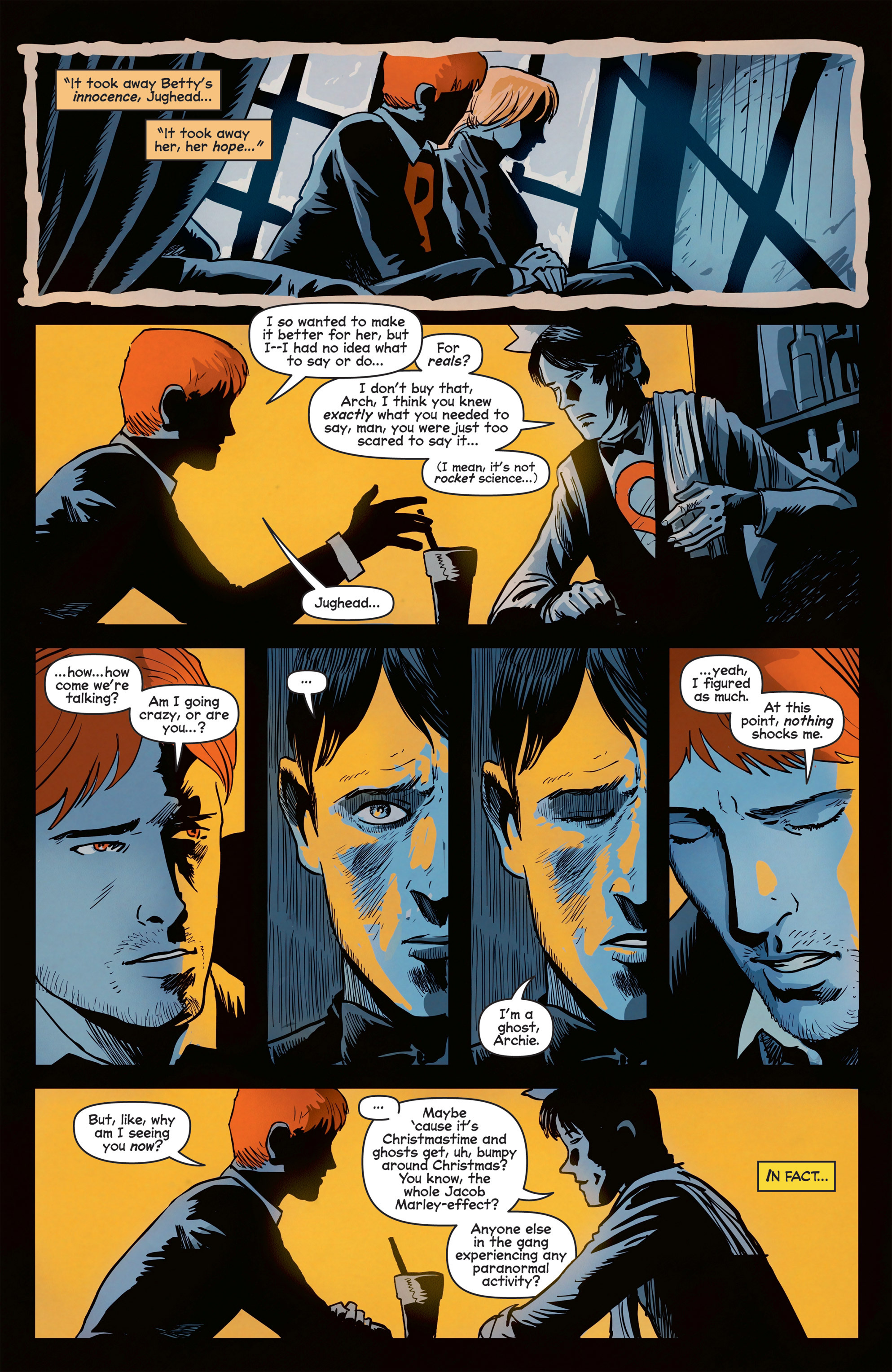 Read online Afterlife with Archie comic -  Issue #8 - 17