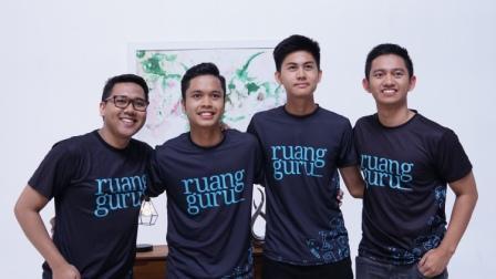 Anthony Sinisuka Ginting dan Rendy Juliansyah resmi bergabung menjadi Ruangguru Squad