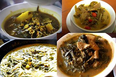 Makanan tradisional Aceh - Kuah Pliek U