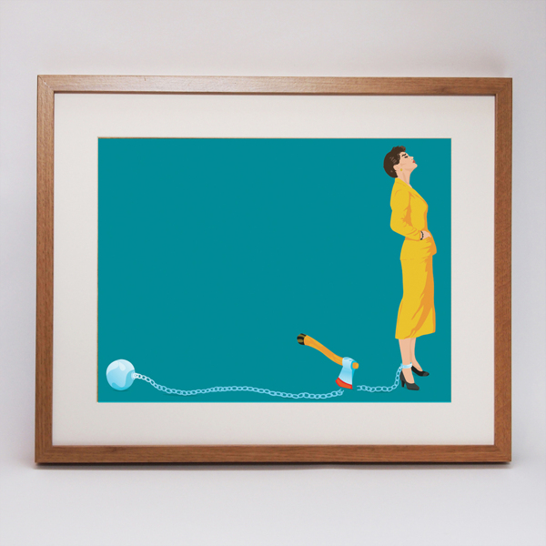 Ben O'Brien. 'Twisted Fifties' Art Print Collection