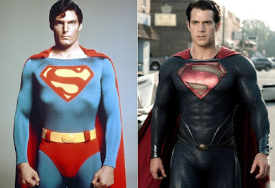 Superman dulu vs Superman sekarang