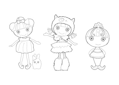 Lalaloopsy%2B2 Desenhos para Colorir da Lalaloopsy – Imagens para Imprimir e Pintar