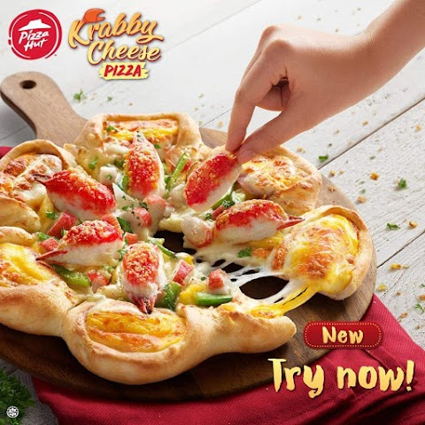 PIZZA HUT REMIXES TRADITIONS WITH THE NEW KRABBY CHEESE PIZZA