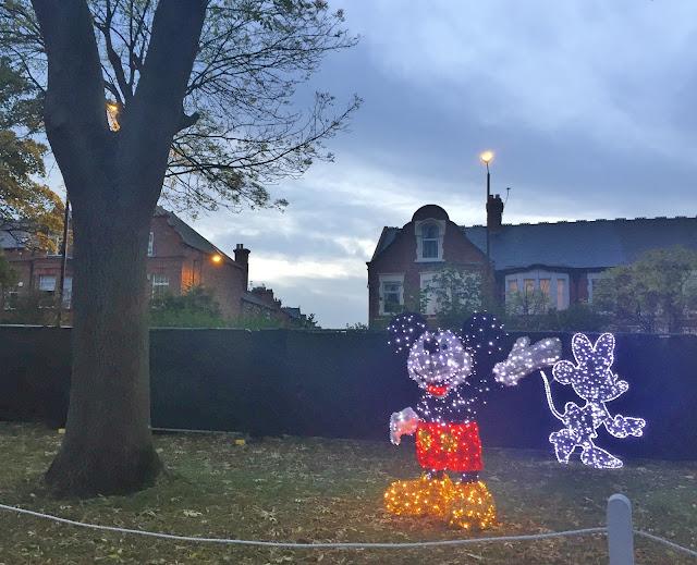 Mickey Mouse Light at Sunderland Illumination 2017