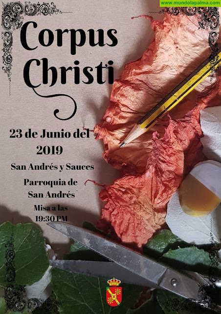 Corpus Christi en San Andrés 2019