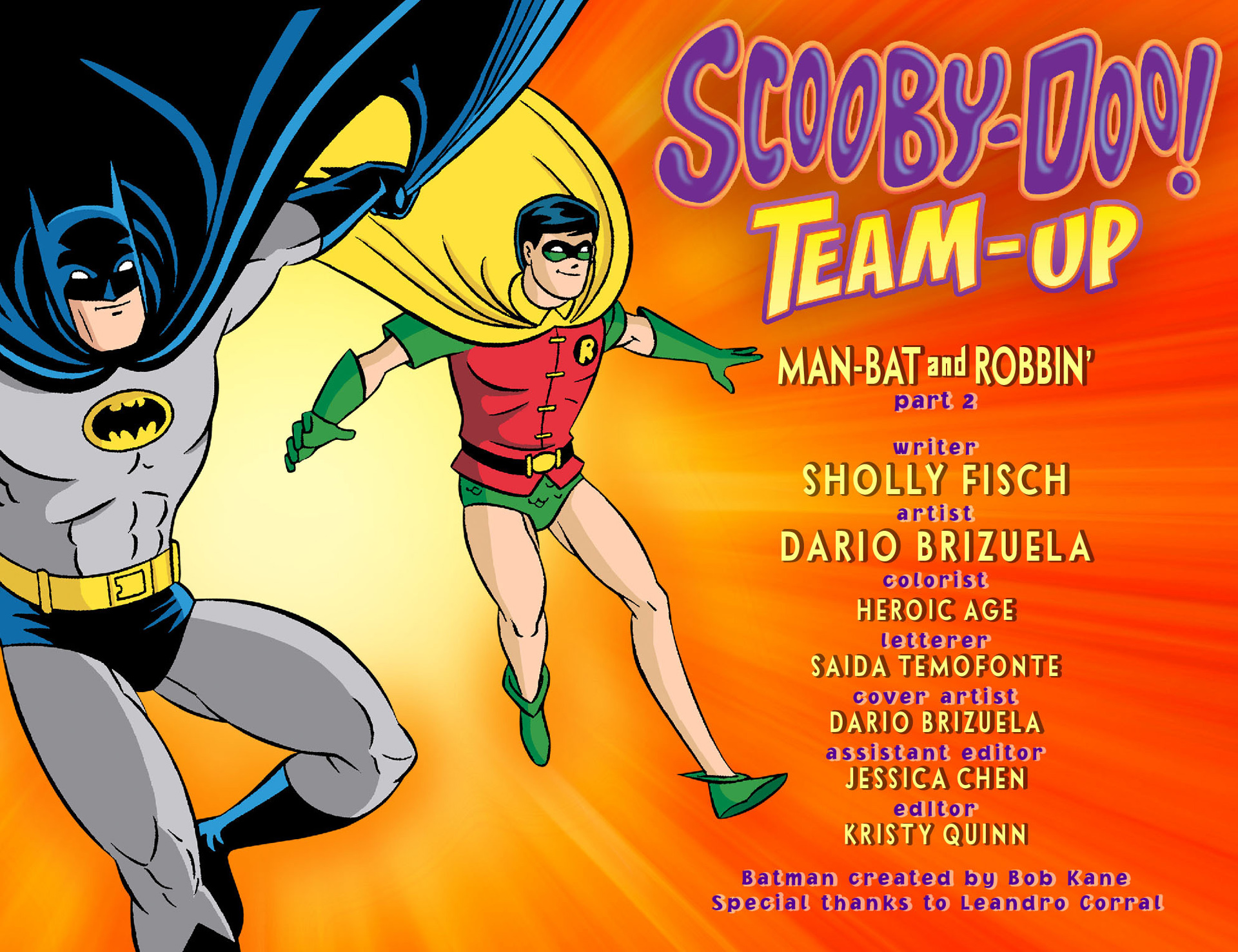Read online Scooby-Doo! Team-Up comic -  Issue #2 - 2