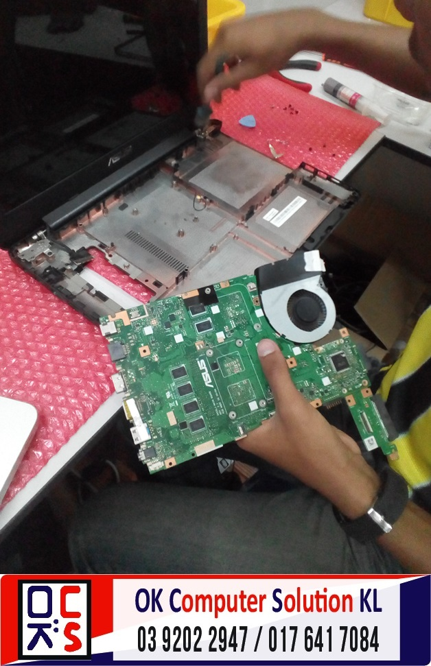 [SOLVED] TUKAR KEYBOARD ASUS X454L | REPAIR LAPTOP CHERAS 3