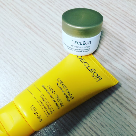 Decléor Hand Cream & Decléor Intense Nutrition Lip Balm