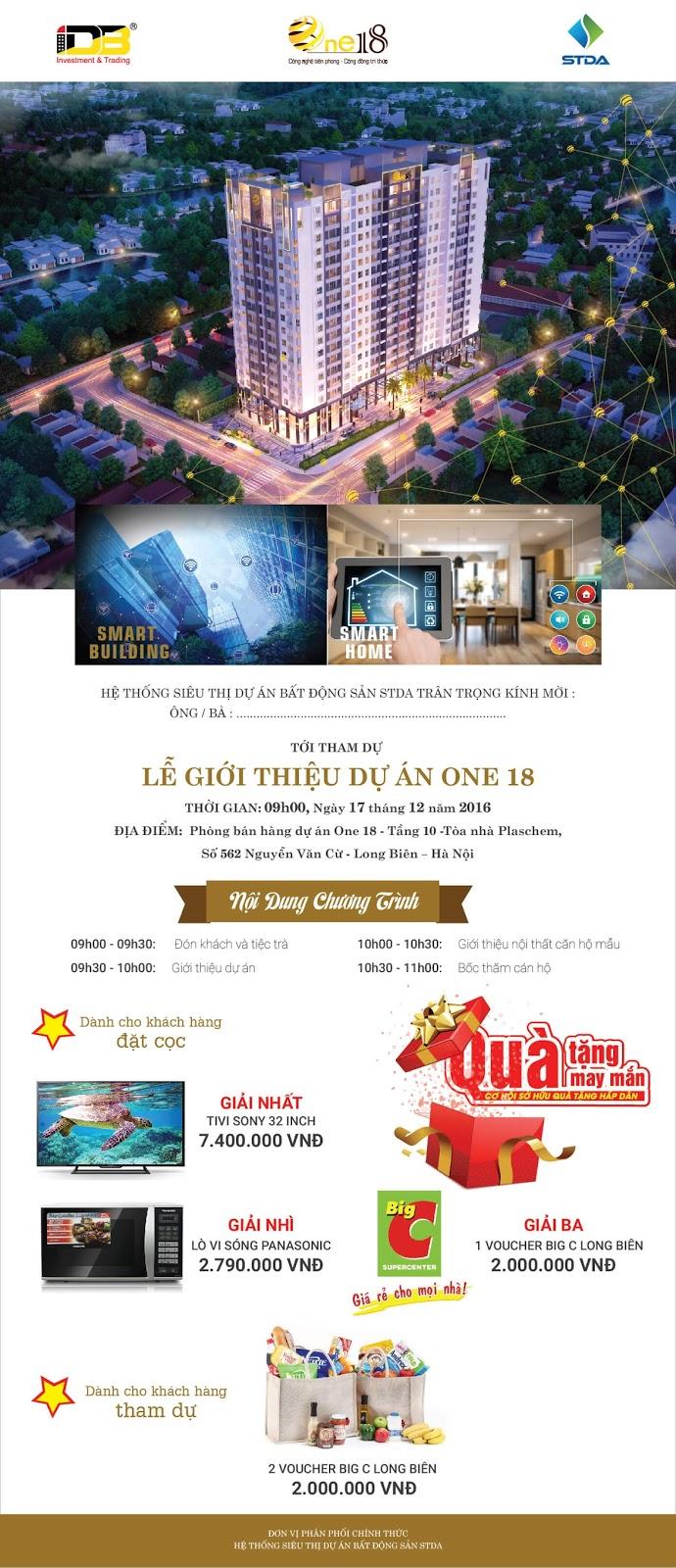 Lễ mở bán dự án chung cư One 18 Long Biên