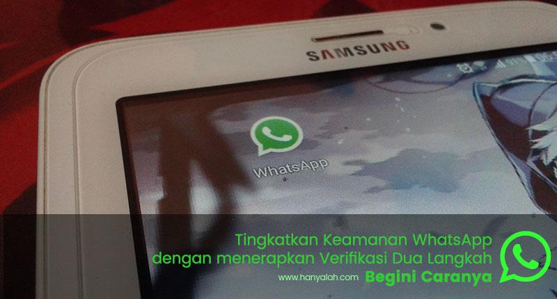 Verifikasi 2 Langkah WhatsApp