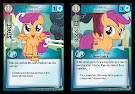 My Little Pony Scootaloo, Cutie Mark Crusader Marks in Time CCG Card