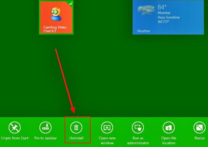 Cara Upgrade Camfrog ke Windows 8.1