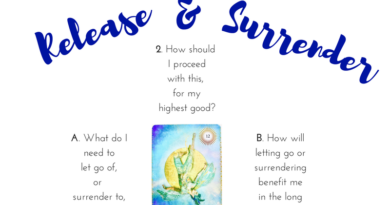 Release & Surrender Tarot Spread | The Curious Cardslinger