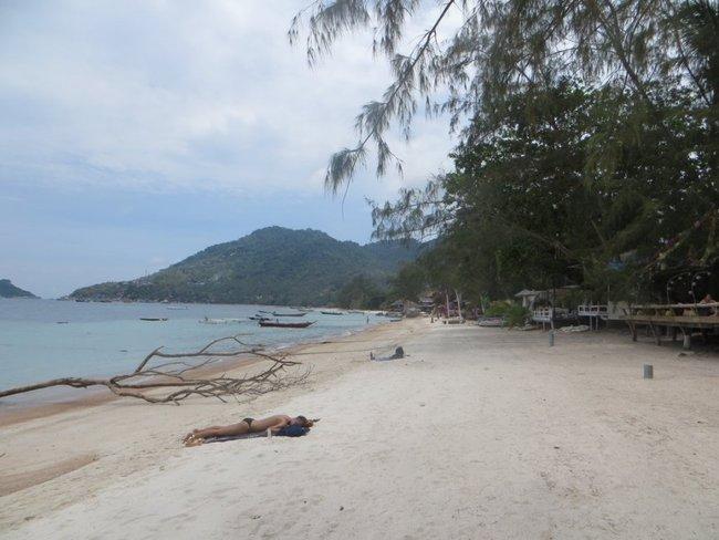 Пляж на острове Тао