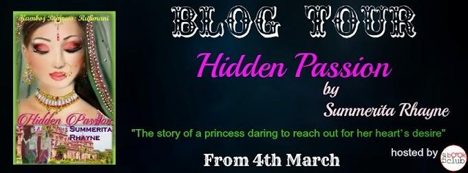 Blog Tour: Hidden Passion by Summerita Rhayne
