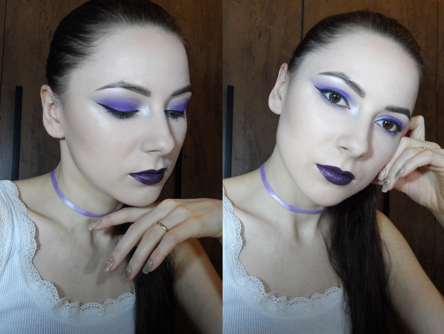 30 days beauty blogger challenge makeup step by step tutorial pictures brown eyes