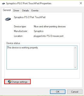scroll touchpad laptop tidak bisa digunakan